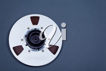 Open Metal Reel With Tape For Professional Sound Recording with NAB adapter