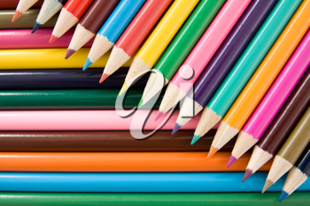 Royalty Free Photo of Pencil Crayons