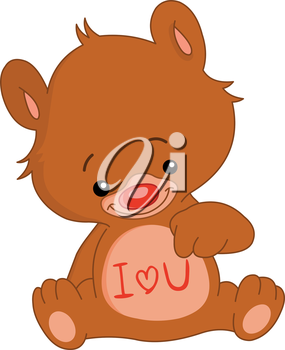 I love U teddy bear